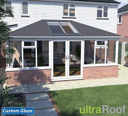 double hipped lean-to ultraroof-cgi