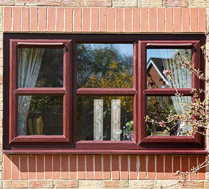 roasewood casement windows