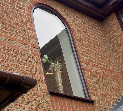 rounded shaped windows