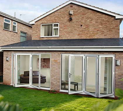 conservatory bifolds