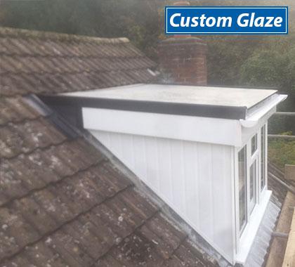 custom glaze customer roof