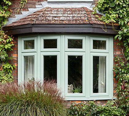 Bow bay windows custom glaze for House full of windows