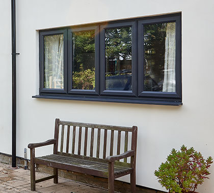 casement windows closed