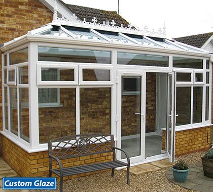 double hipped edwardian glass-white