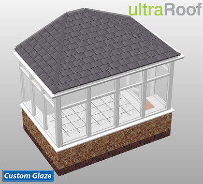 double hipped lean-to ultraroof