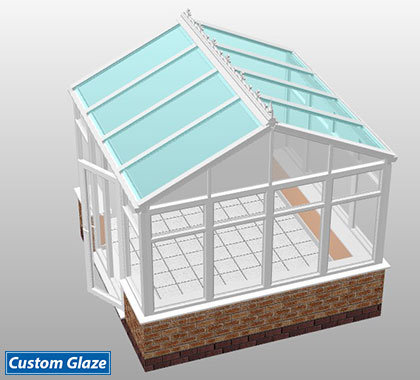 gable front glass