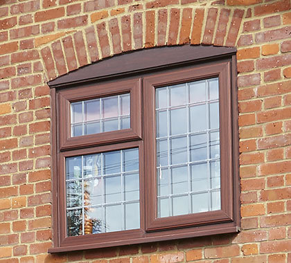 leaded windows rosewood