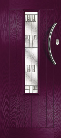 Mars Farmhouse in Aubergine with Prairie Glass