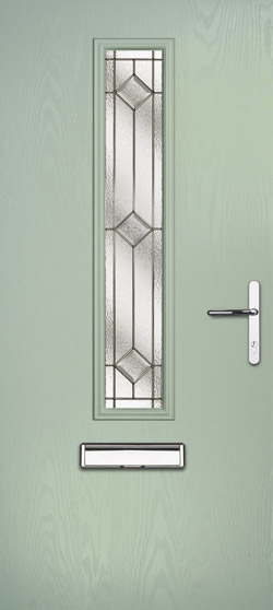 Mars Flush in Chartwell Green with Simplicity Zinc Glass