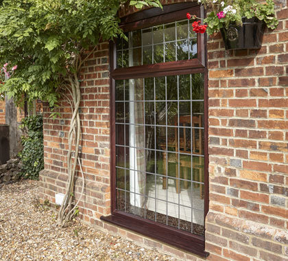 traditional leaded windows