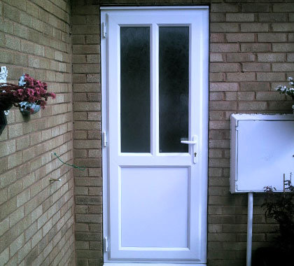 Upvc paint for doors the right way to paint a door brown for Brown upvc patio doors