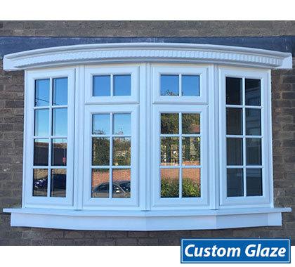 Bow Bay Windows Custom Glaze