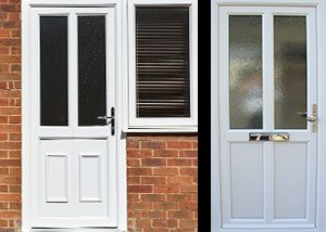 uPVC Front & Back Doors
